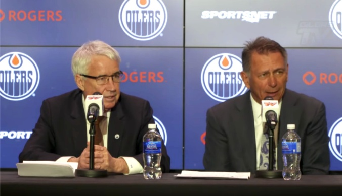 Bob-Nicholson-and-Ken-Holland-press-conference